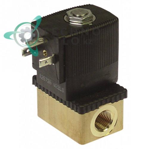 Клапан электромагнитный Burkert 6013 1/4 230VAC мембрана FKM от -10 до +100 °C