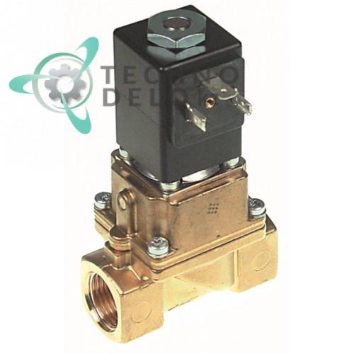 Клапан электромагнитный Burkert 0406 230VAC 1/2 180°C мембрана PTFE