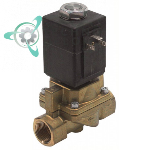 Клапан электромагнитный Burkert 0407 230VAC 3/4 180 °C