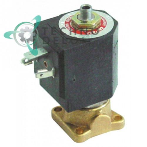 Клапан электромагнитный M&M B-301 24VAC 7200 фланец 32x32мм