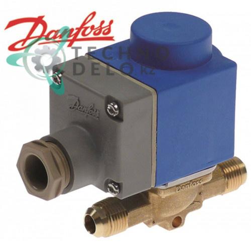 Клапан электромагнитный Danfoss EVR 6 5/8 UNF (10 мм) 230В -40° до 105°C для хладагента