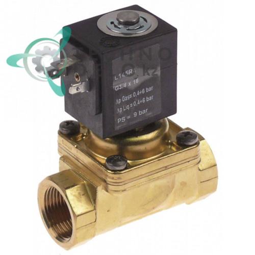 Клапан элетромагнитный SIRAI L145-R тип катушки Z534A для оборудования Electrolux, Grandimpianti и др.