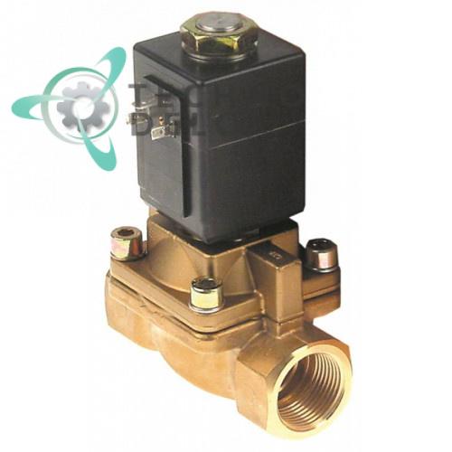 Клапан электромагнитный 0407 230VAC 1 дюйм 180°C PTFE 0K1425 для Electrolux, Juno (technodelo)