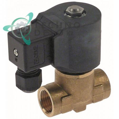 Клапан электромагнитный CEME 230VAC 1/2 IG L55мм 6042075 для печи Giorik, Lainox и др.