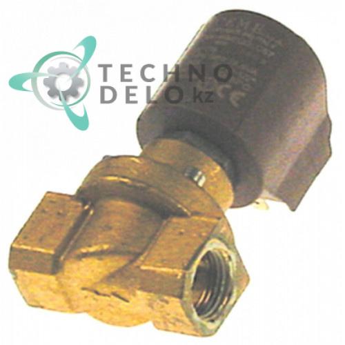 Клапан электромагнитный CEME 230VAC L61мм 1/2 IG латунь  3103600 для печи Baron, Olis CVP10E и др.