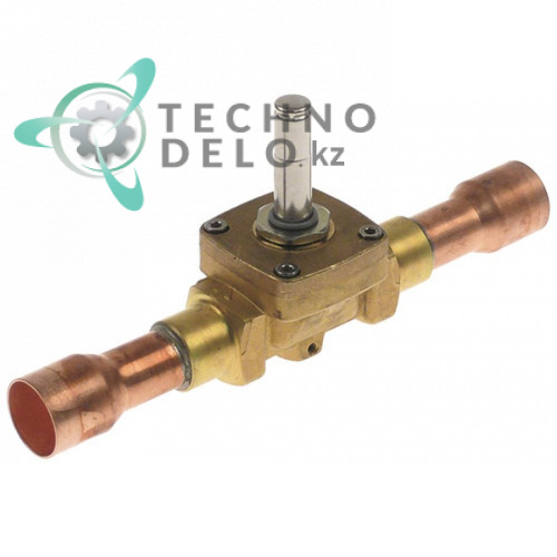 Корпус клапана Castel NC 1079/7S 22мм паечное соединение прямой L190мм