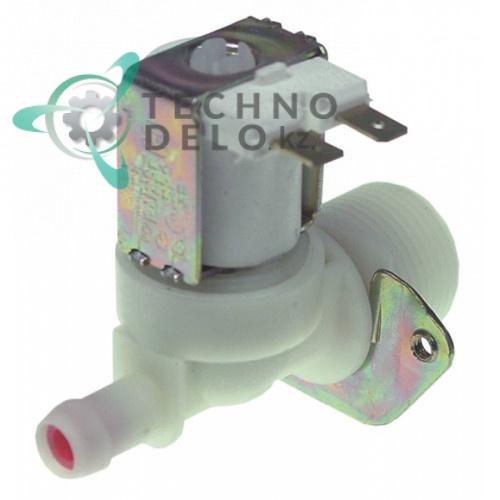 Клапан электромагнитный одинарный TP 230VAC 3/4 d11.5мм 813050131 печи Smeg