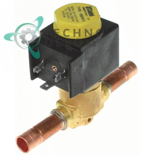 Клапан электромагнитный Castel 230В NC d10мм 19863034 18024 для Icematic, Ilsa и др.