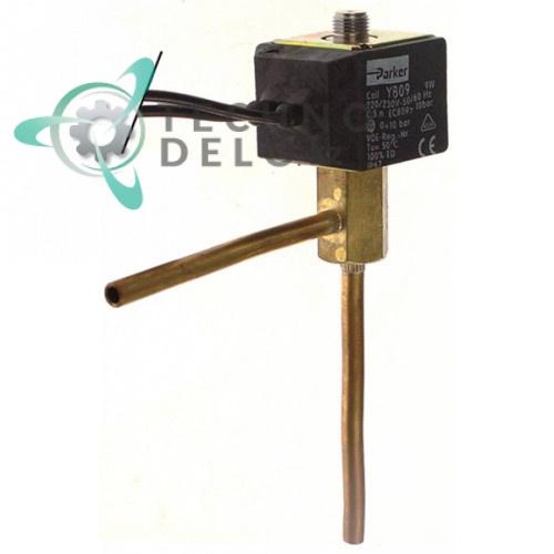 Клапан электромагнитный Parker 230В DN2,5 d6мм для Linea Blanca и др.