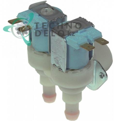 Клапан электромагнитный TP двойной 23498 льдогенератора Brema, Electrolux, NTF, Fagor и др.