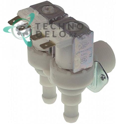 Клапан электромагнитный двойной TP 230VAC 3/4 d11,5мм 1,2 л/мин C23191 для Brema