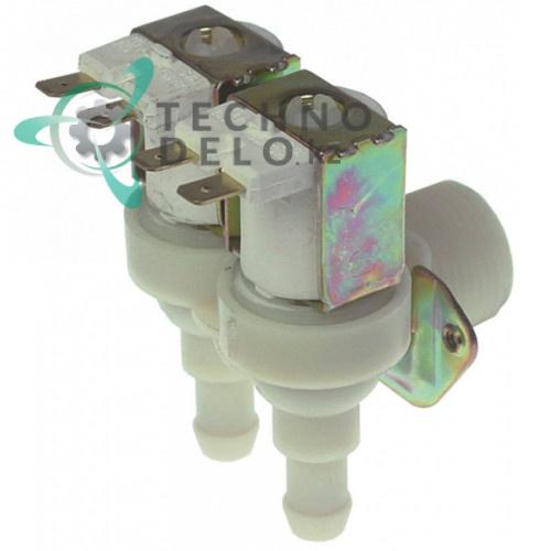 Клапан электромагнитный двойной TP 230VAC 3/4 d11,5мм льдогенератора Simag