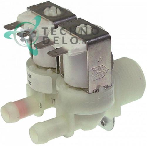 Клапан электромагнитный двойной Elbi 230VAC 3/4 d11.5мм 19865538 льдогенератора Icematic
