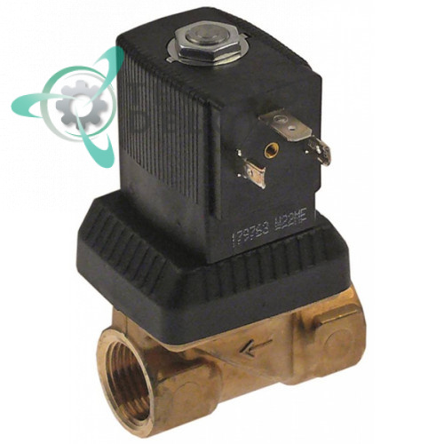 Клапан электромагнитный Burkert 1/2 24VAC латунь DW3002030 для Dihr, Kromo, Olis и др.