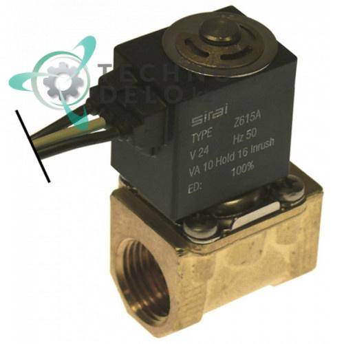 Клапан электромагнитный Sirai 24V Z610A 23140004 для машины посудомоечной Elframo и др.