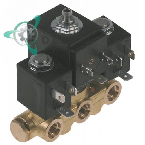 Клапан электромагнитный ODE 1/8 BDA/LBA 230VAC  098761 для кофемашины N&W, Necta, Fas Vending и др.
