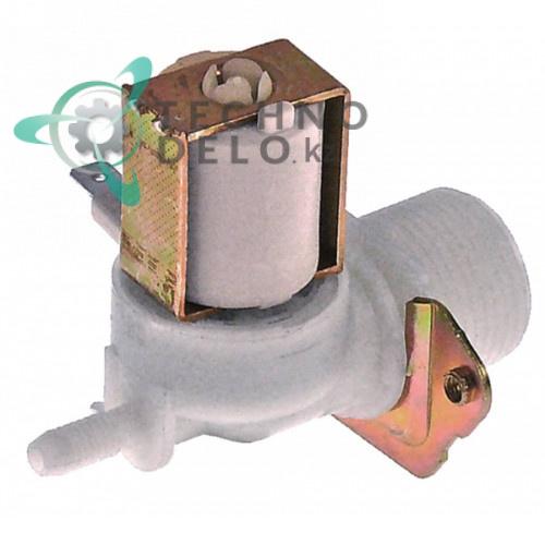 Клапан электромагнитный одинарный 230VAC d6мм 3/4 9519728 для Meiko FV 130.2KW