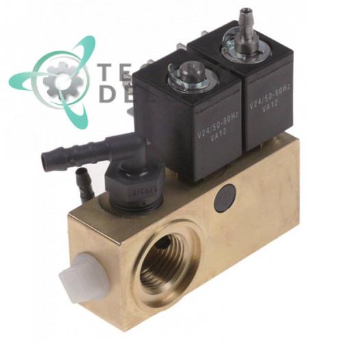 Блок-соленоид 24VAC VA12 0280025 вакуумного упаковщика Henkelman Jumbo Plus/Mini Jumbo, Cookmax, Allpax и др.