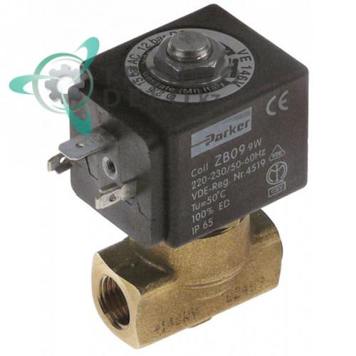 Клапан электромагнитный Parker VE-146 1/4 L40мм ZB09 230VAC WGADM2115 универсальный