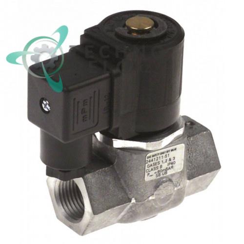 Клапан электромагнитный Black Teknigas 230В 1/2 L69мм H94мм 63AQ7350/1