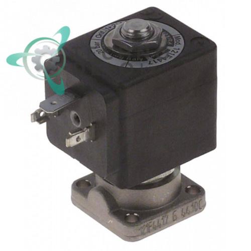 Клапан электромагнитный Parker 121F фланец 32x32мм катушка XS03XS6F 230VAC для Faema