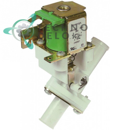Клапан электромагнитный Eaton (Invensys) 230В d17,5мм/d15,5мм 19865597 для Icematic и др.