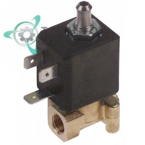 Клапан электромагнитный CEME 53 230VAC L-28 мм резьба 1/8 для кофейного оборудования NUOVA SIMONELLI и др.
