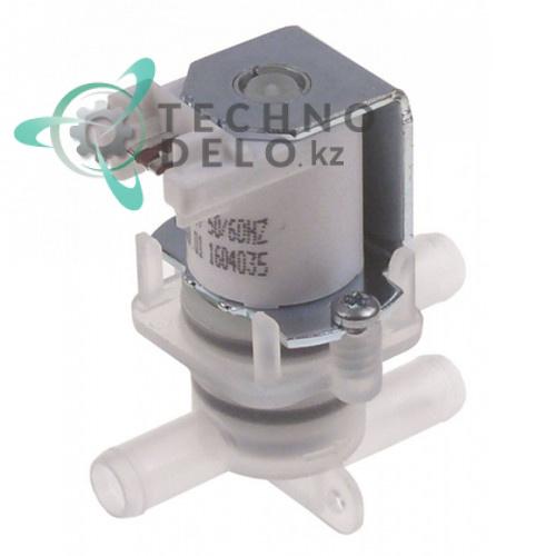 Клапан электромагнитный 220-240VAC выход/вход 10мм для посудомоечной машины Hobart Ecomax