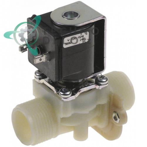 Клапан электромагнитный одинарный Muller 085005 230VAC 3/4 297808-1 для Hobart CN