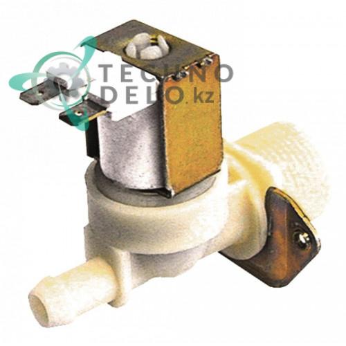 Клапан электромагнитный одинарный TP 230VAC 3/4 d11.5мм 8ВА 47533 для Electrolux, Zanussi LB110E