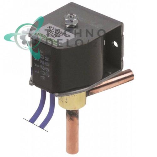Клапан электромагнитный SAGINOMIYA NEV-202DXF 2251 J 230VAC d6мм для Brema, Brice Italia и др.