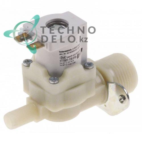 Клапан электромагнитный одинарный Interelektrik 230VAC 3/4 d11мм 883658-2 для Hobart Ecomax
