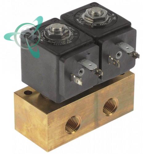 Клапан электромагнитный Parker 1/4IG L77мм 4818653D 230VAC 94052347 печи Rosinox
