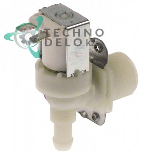 Клапан электромагнитный одинарный Elbi 319 230VAC 3/4 d11.5мм посудомоечной машины ATA AF55/AF61/AF610
