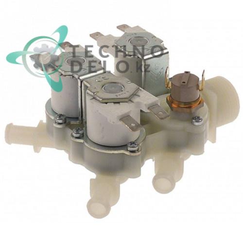 Клапан электромагнитный RPE 4 выхода d10.5мм 3/4 24V 30520181 печи Hounö и др.
