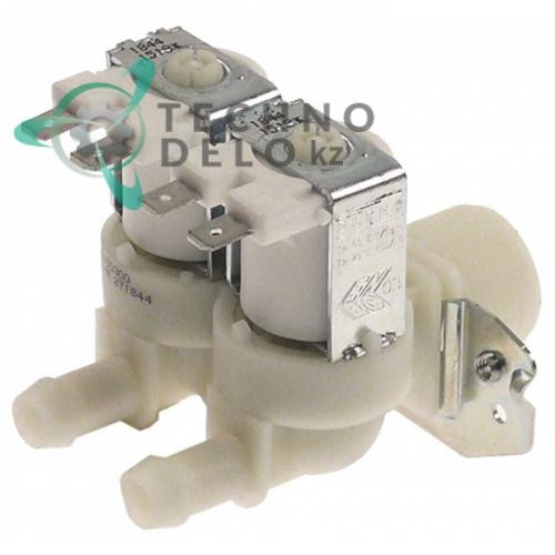 Клапан электромагнитный ELTEK двойной 230VAC 3/4 d-11.5мм 2x1,2 л/мин 90°C для льдогенератора Migel