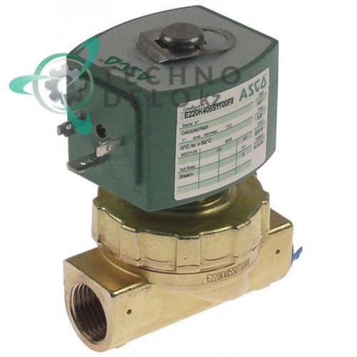 Клапан электромагнитный Asco 230VAC 1/2 L73мм 238613-059
