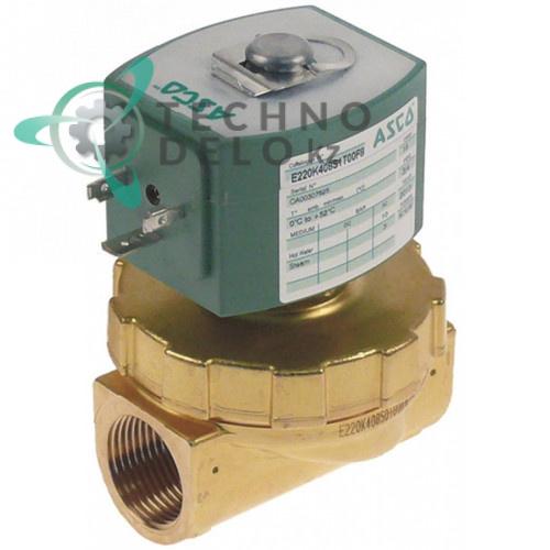 Клапан электромагнитный Asco 3/4 L72мм 238613-059 230VAC