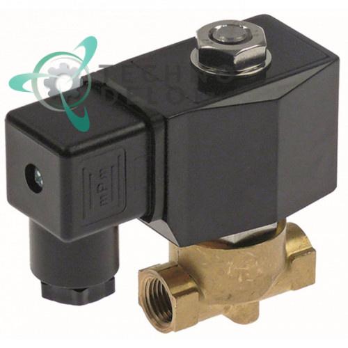 Клапан электромагнитный 230VAC 1/4 IG L43мм 9401620 94016201 для Rosinox и др.