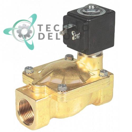 Клапан электромагнитный Parker 7321(PM133) 3/4 L100мм катушка DZ02A2 24VAC (переменный ток)