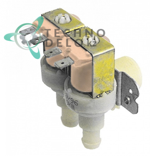 Клапан электромагнитный Invensys двойной 230VAC 3/4 d14мм 049056 для Whirlpool, Imesa, Primus и др.