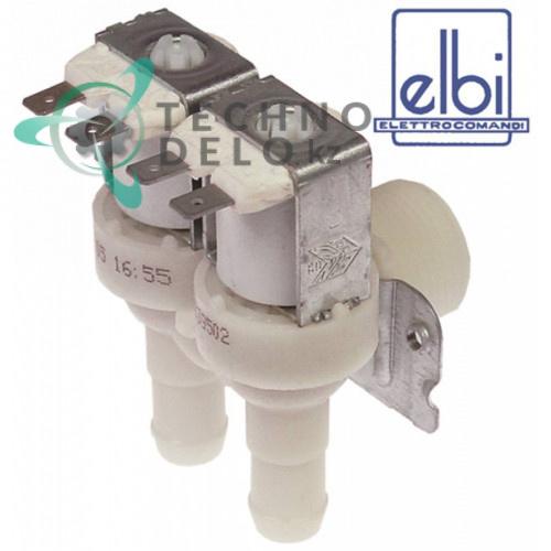 Клапан электромагнитный двойной Elbi 230VAC 3/4 d14мм 049230 для Electrolux LS10 и др.