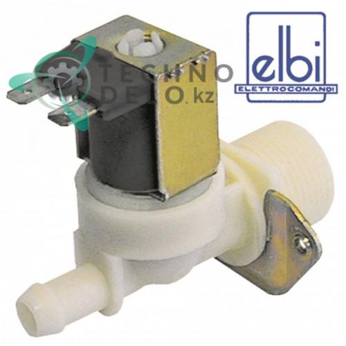Клапан электромагнитный одинарный Elbi 230В выход 11,5мм / универсальный