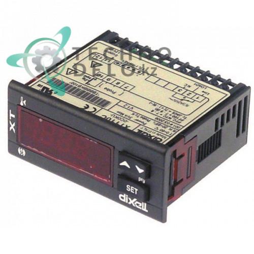 Контроллер Dixell XT110C-0C0KU 71x29мм 12VAC/VDC датчик NTC/PTC/Pt100/TC TER130 для Gierre FEV 62/FEV 122M и др.