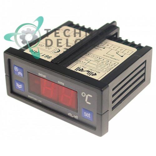 Контроллер Eliwell EWPC961/AR 71x29мм 12V датчик PTC 995474 FR6631211 FR995474 оборудования Friulinox и др.