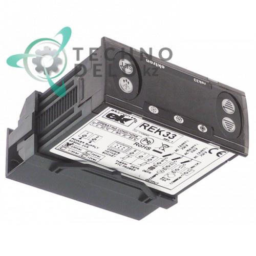 Контроллер Ektron REK33-1021 71x29мм 230VAC датчик PTC 3 реле NO-16A CO0019 для Asskühl, Fimar, Forcar, Tefcold и др.