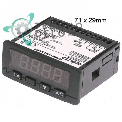 Контроллер EVCO EVK411 230VAC датчик NTC/PTC/Pt100 TERM0060 для печи Zanolli PLANET, CITIZEN, SYNTHESIS