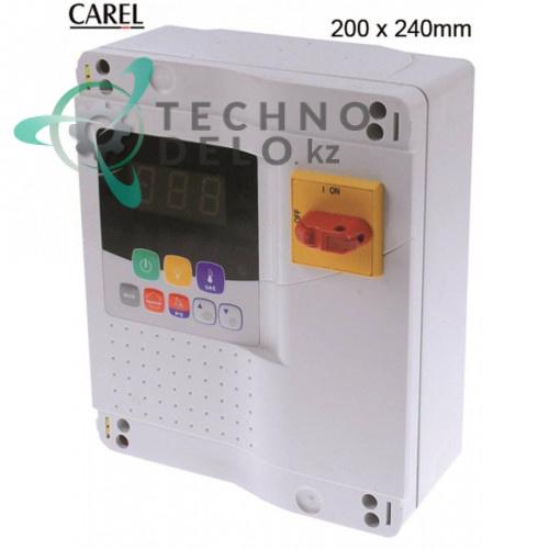 Контроллер CAREL MasterCella MD33D5FB00 IR/RS-485 200x240мм 230VAC датчик NTC для холодильной камеры и др.