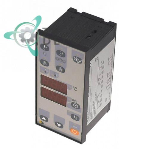 Контроллер EVCO EK825AP7 66,5x138мм 230VAC датчик PTC 4 реле IP65 диапазон -50 до +150°C