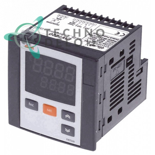 Контроллер Eliwell EW7220 E7212P0XBH700 66,5x66,5мм 95-240VAC датчик NTC/PTC/Pt100/Pt1000/TC(J,K) 2 реле тип универсальный